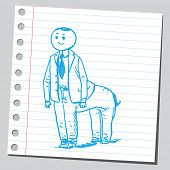 Centaur businessman