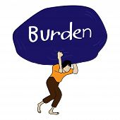Heavy burden