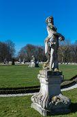 Castel with a nice park
