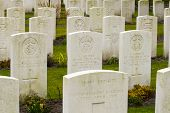 New British Cemetery In Flanders Fields Great World War