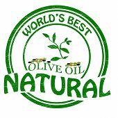 Natural olive oil