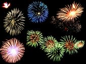 Firework Bursts