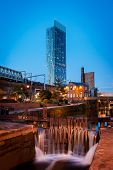 Beetham Tower Roachdale Canal