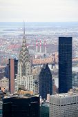 NEW YORK CITY, NY, USA - MAR 30: The Chrysler Building was designed by architect William Van Alena a