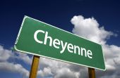 Cheyenne Green Road Sign