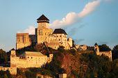 Castle Trencin In Slovakia