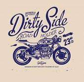 foto of apparel  - Vintage retro illustration typography t - JPG