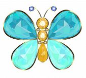 Buterfly brooch