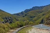 Tradouw pass in Western cape