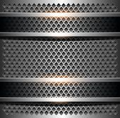 Background elegant metallic, vector illustration
