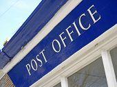 Estação de correios local