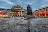 stock photo of bavaria  - The National Theatre of Munich Located at Max - JPG
