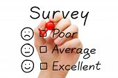 Survey Poor Evaluation