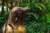 Sea Lion Head Statue