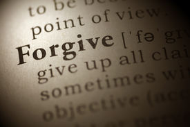 stock photo of forgiveness  - Dictionary definition of the word Forgive - JPG