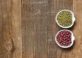 Raw Organic Azuki And Mung Beans