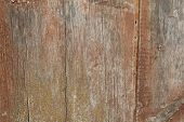 Texture Painted Wooden Fence
