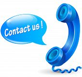 Contact Us Illustration Concept