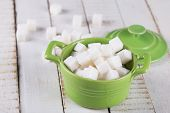 White  Sugar Cubes