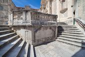 Jesuits staircase, the grand staircase that leads from Gundulic Square to the square in front of Col