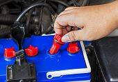Check Distilled Water Level In Battery Of A Car