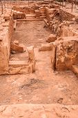 foto of minos  - Excavations of ancient Malia palace Crete Greece - JPG