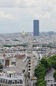Montparnasse Tower In Paris