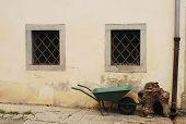 Wheelbarrow In Pesariis