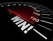 Speedometer - Needle Points To Win