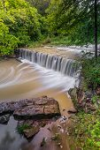 Indiana's Anderson Falls