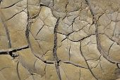 Dry Drought - African Textures - Environmental Cracks