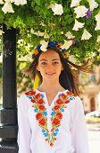 Smiling Ukrainian Girl