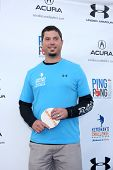 LOS ANGELES - SEP 4:  Josh Beckett at the Ping Pong 4 Purpose Charity Event at Dodger Stadium on September 4, 2014 in Los Angeles, CA