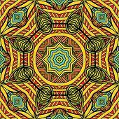 Bright Oriental Seamless Pattern
