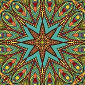 Bright Stars Seamless Pattern