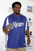 LOS ANGELES - SEP 4:  Craig Robinson at the Ping Pong 4 Purpose Charity Event at Dodger Stadium on September 4, 2014 in Los Angeles, CA