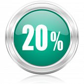 20 percent internet icon