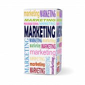 Marketing Word On Product Box