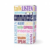 Communicate Word On Product Box