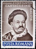 ROMANIA - CIRCA 1990: A stamp printed in Romania shows portrait of Constantin Cantacuzino
