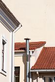 Gutters And Ventilation Pipe