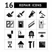 Set Icons Repair of Building Items