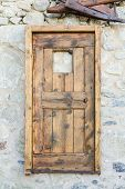 Old Hanging Door