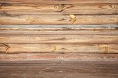 picture of uncolored  - Empty uncolored wooden interior background photo texture - JPG