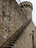 Stair To Tossa's Fortress Wall
