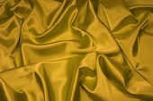 Gold Satin/Silk Fabric 1
