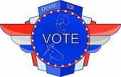 Vote 2010 Emblem