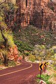 Utah Zion Scenic Road