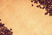 Coffee Canvas Backdrop