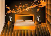 Render Night Bedroom